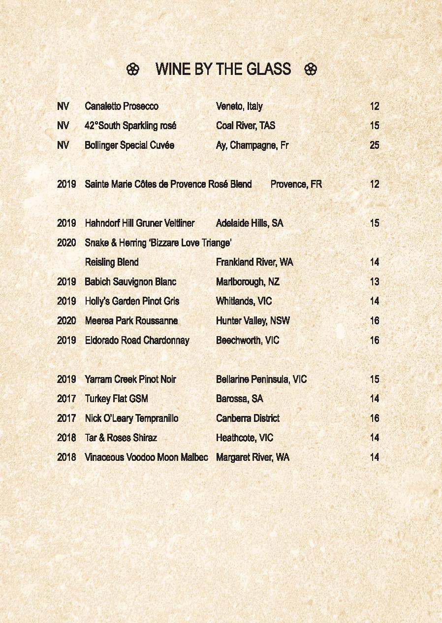 Mp Spice Bar A5 Drinks Menu Revised April 2021 Page 003