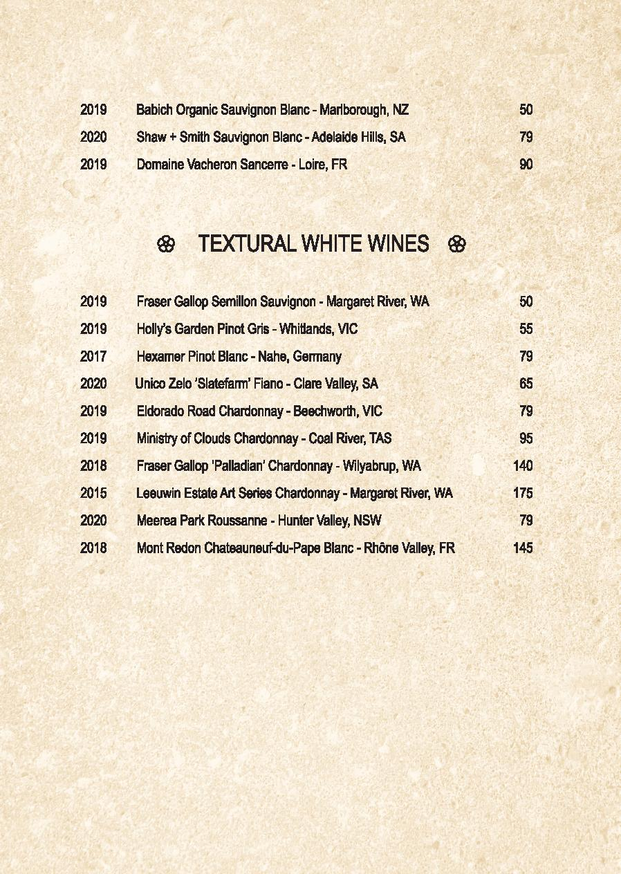 Mp Spice Bar A5 Drinks Menu Revised April 2021 Page 005