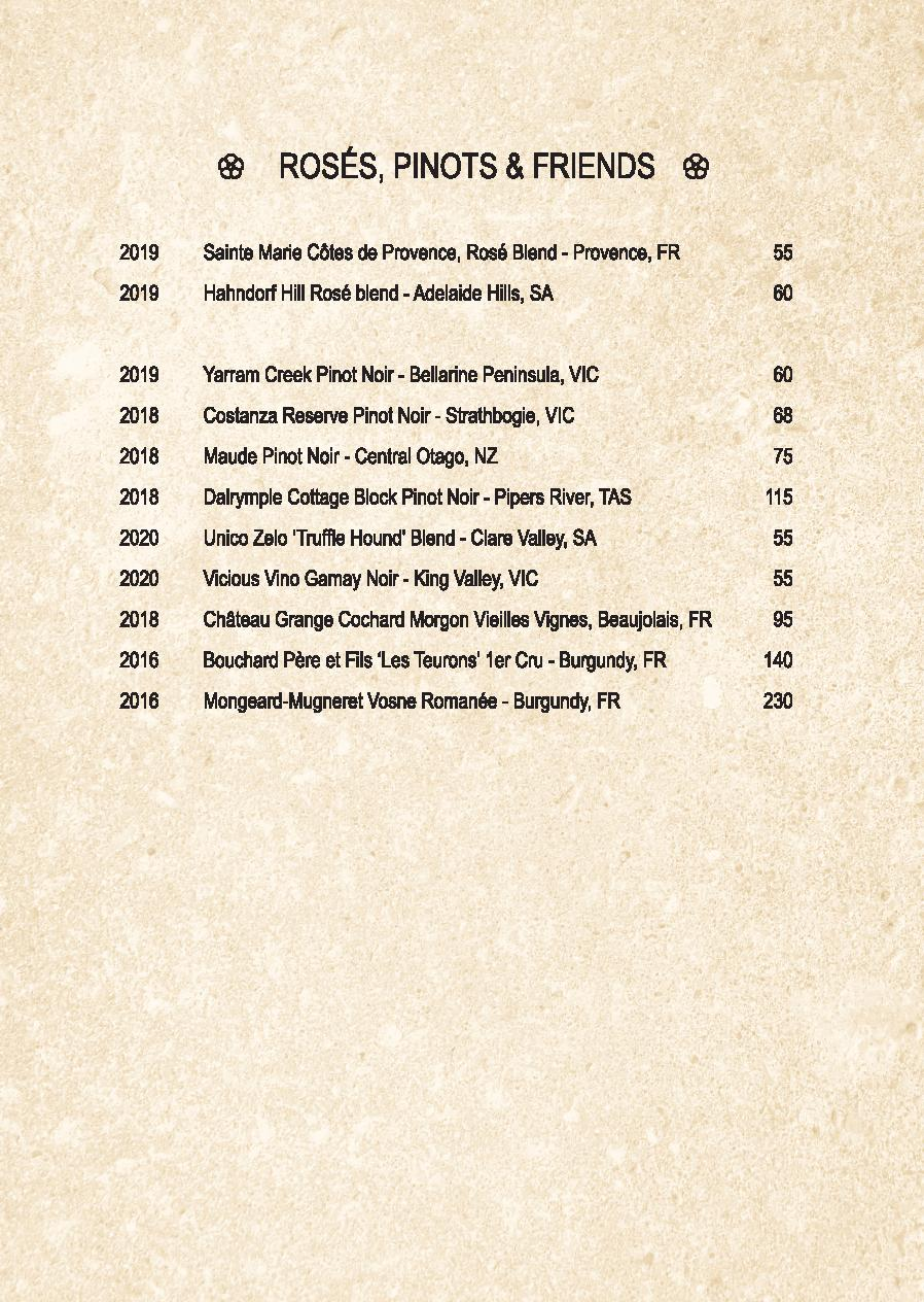 Mp Spice Bar A5 Drinks Menu Revised April 2021 Page 006